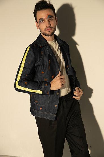 Blue Denim oversize Jacket