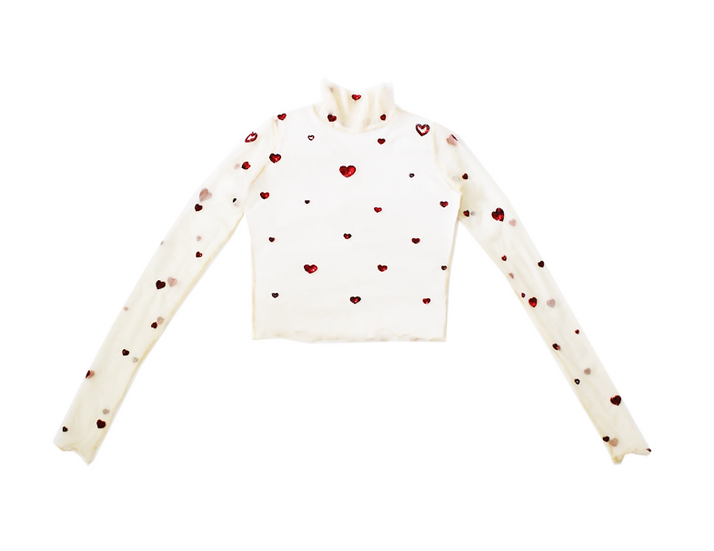 Love Letter Hearts Top