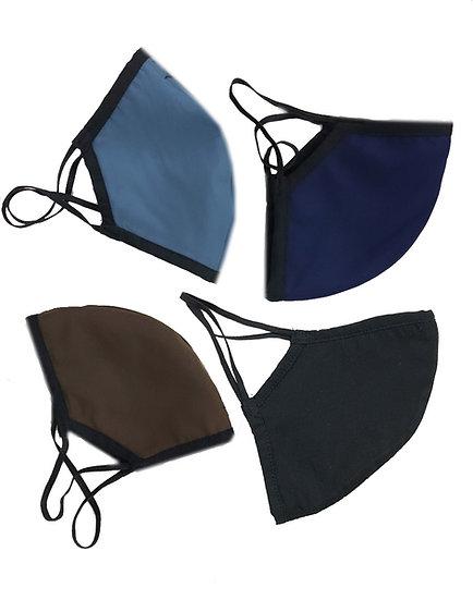 Classic Menswear Mask (Set of 4 Masks)