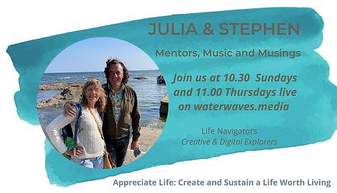 Julia and Stephen on WaterWaves.Media.png
