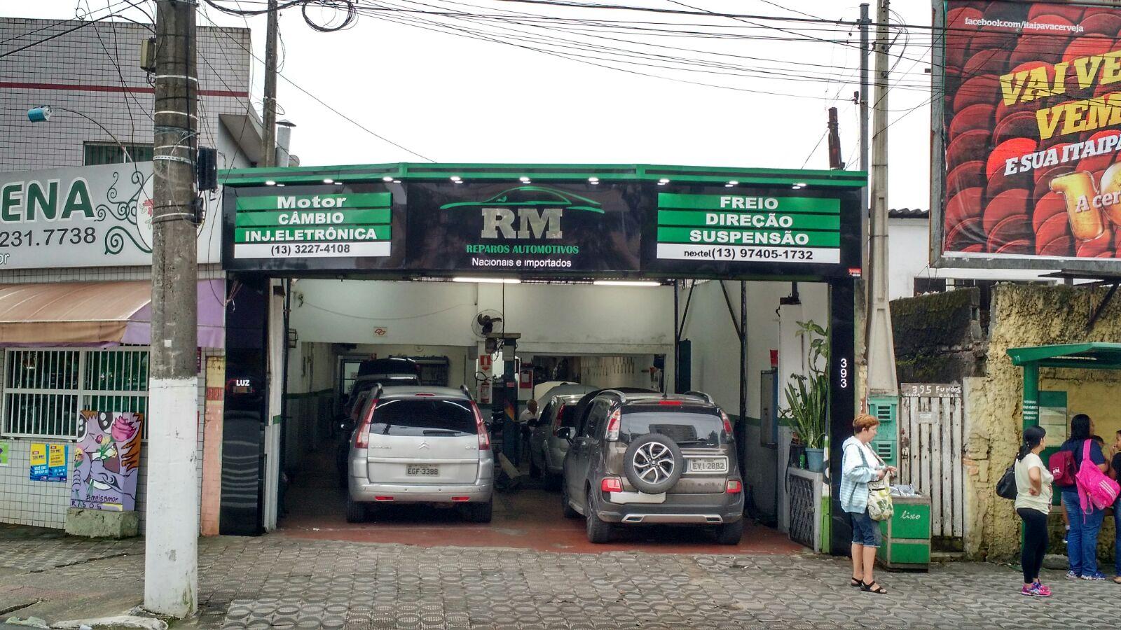 RM Rep.Automotivos,Santos S.Paulo