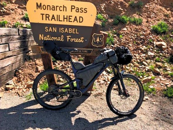 MONARCH PASS COLORADO TRAIL