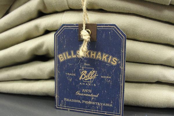 Bills Khakis, American Made, Quality