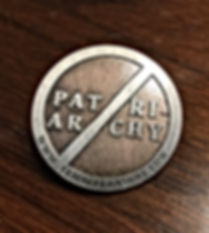 Patriarchy Must Fall Pin