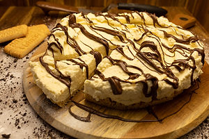 nutella cheese cake for special event