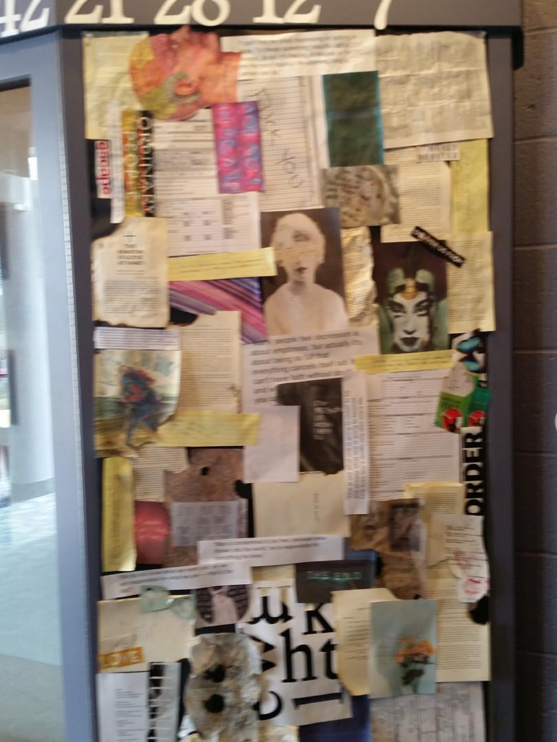 4.48 Psychosis Lobby Display, 2016