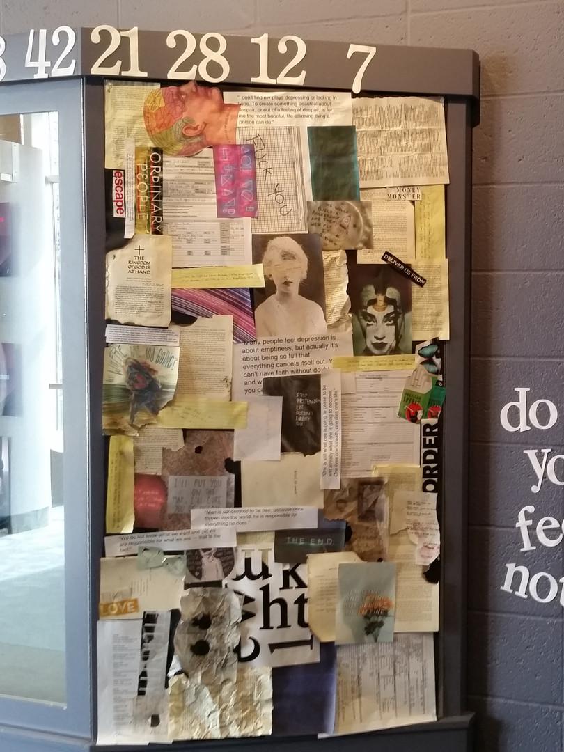 4.48 Psychosis Lobby Display, 2019