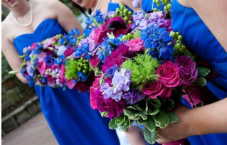 jeweled tone bouquet with royal blue.jpg