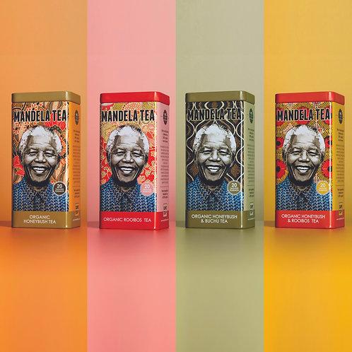 Mandela Tea Tin Collection (4 Tins)