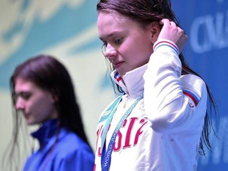 Второе золото Екатерины Михайлушкиной на Первенстве мира в Томске