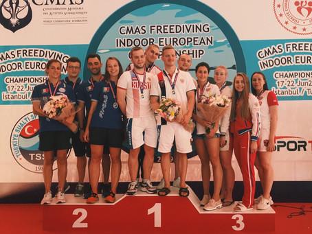 Чемпионат Европы по апноэ, г. Стамбул