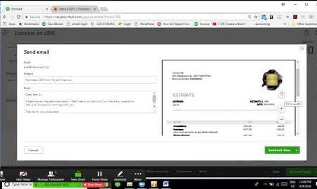 Project Section: How to create Estimates and Invoices for your project