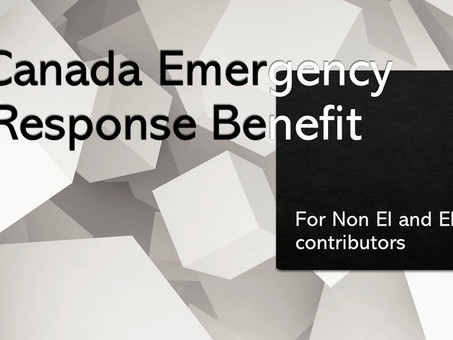 COVID-19 Resources: Canada Emergency Response Benefit April 17th,2020 update