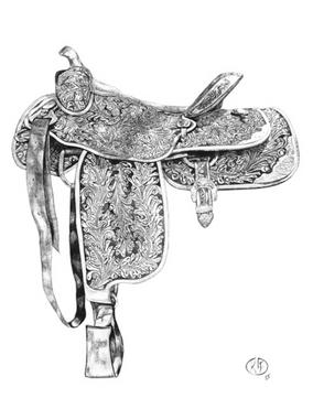 Saddle Monochrome