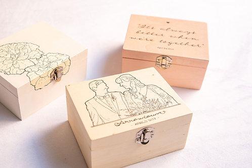 Pine Trinket Box