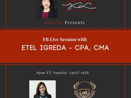 Facebook LIVE:  CERB and CEWS April 19 2020