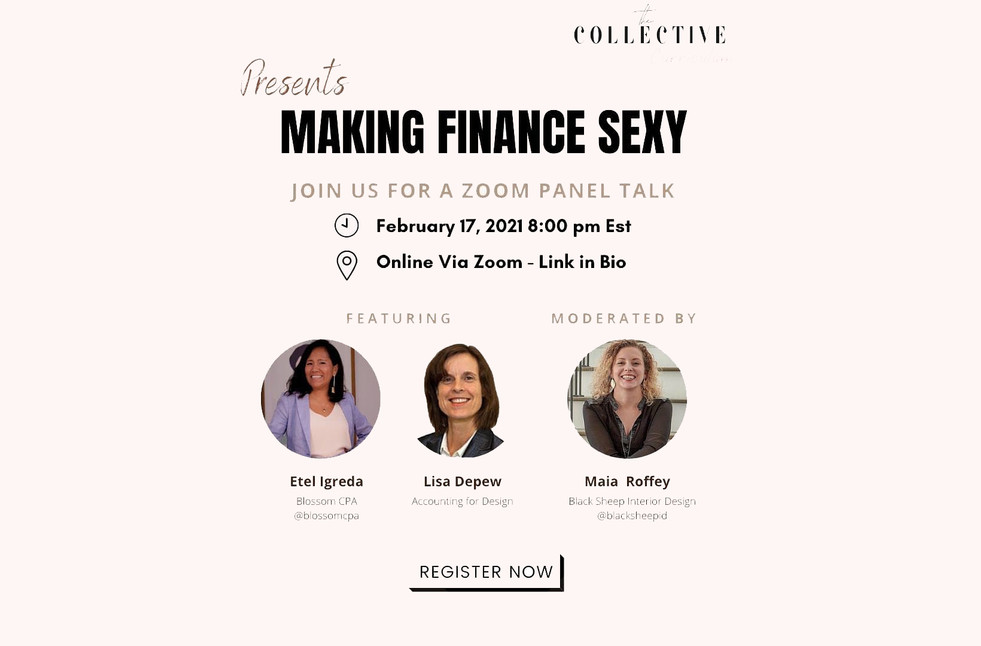 Making Finances Sexy - Panel talk with The Collective Workspaces