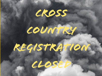 CROSS COUNTRY REGISTRATION