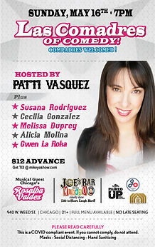 Las Comadres of Comedy Show