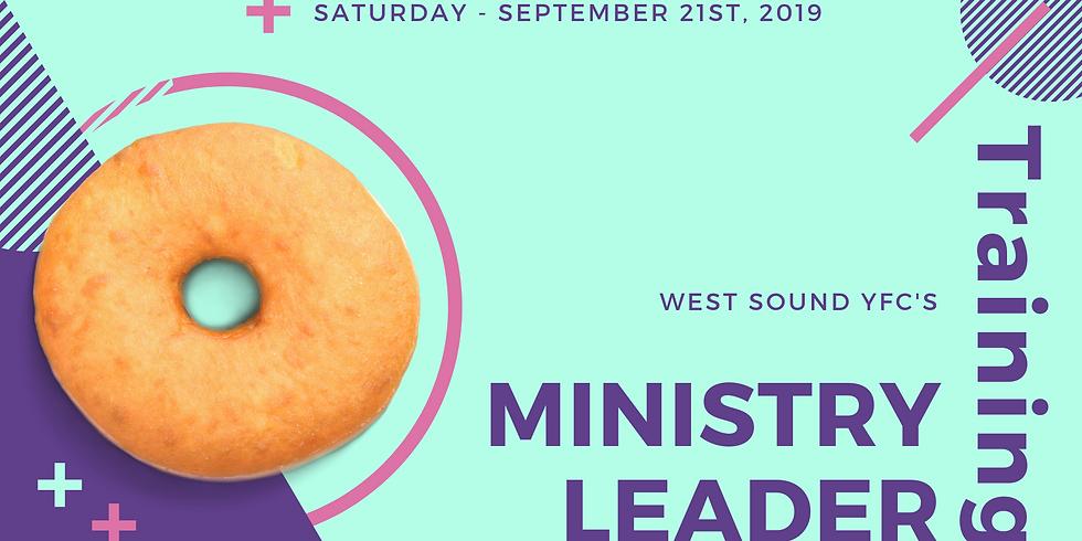 Volunteer Ministry Leader Training