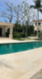 Pool Deck treated with Duraseal Plus
