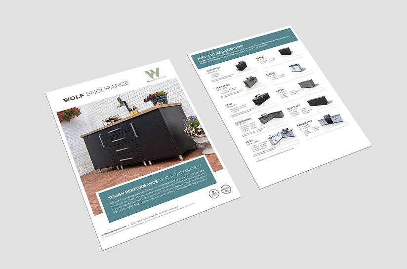 Wolf Outdoor Cabinetry flyer