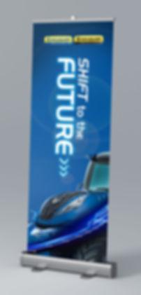 STTF Roll-up banner
