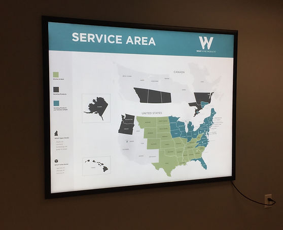 Wolf Service Area Map
