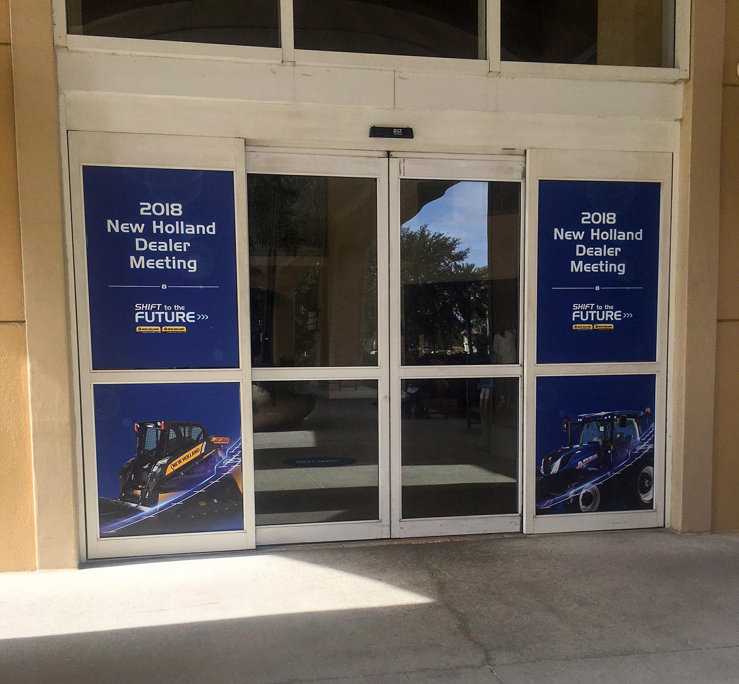 Entryway Window Clings