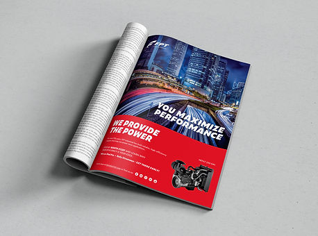 Magazine advertisement, FPT Industrial