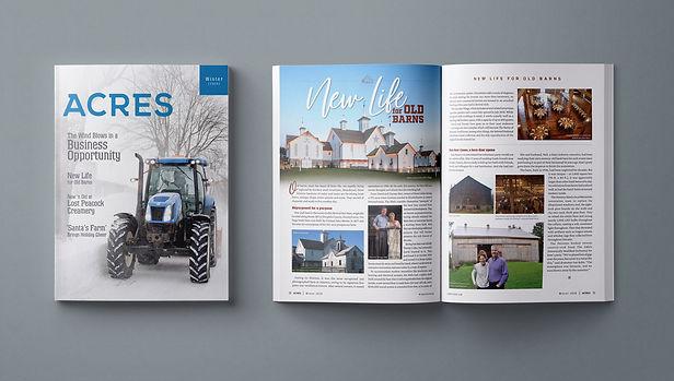 ACRES | 24-page quarterly Publication, New Holland
