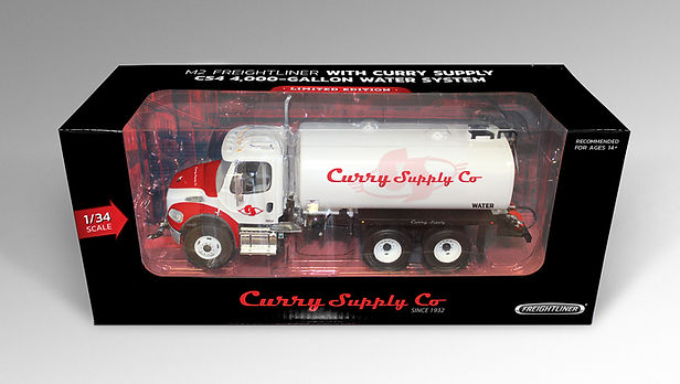 Toy Truck Design & Box Layout, Curry Supply Co.