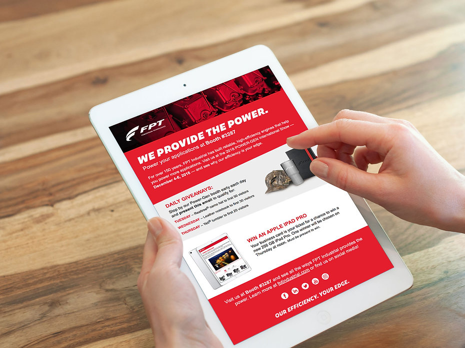 Email campaign - FPT Powertrain Technologies