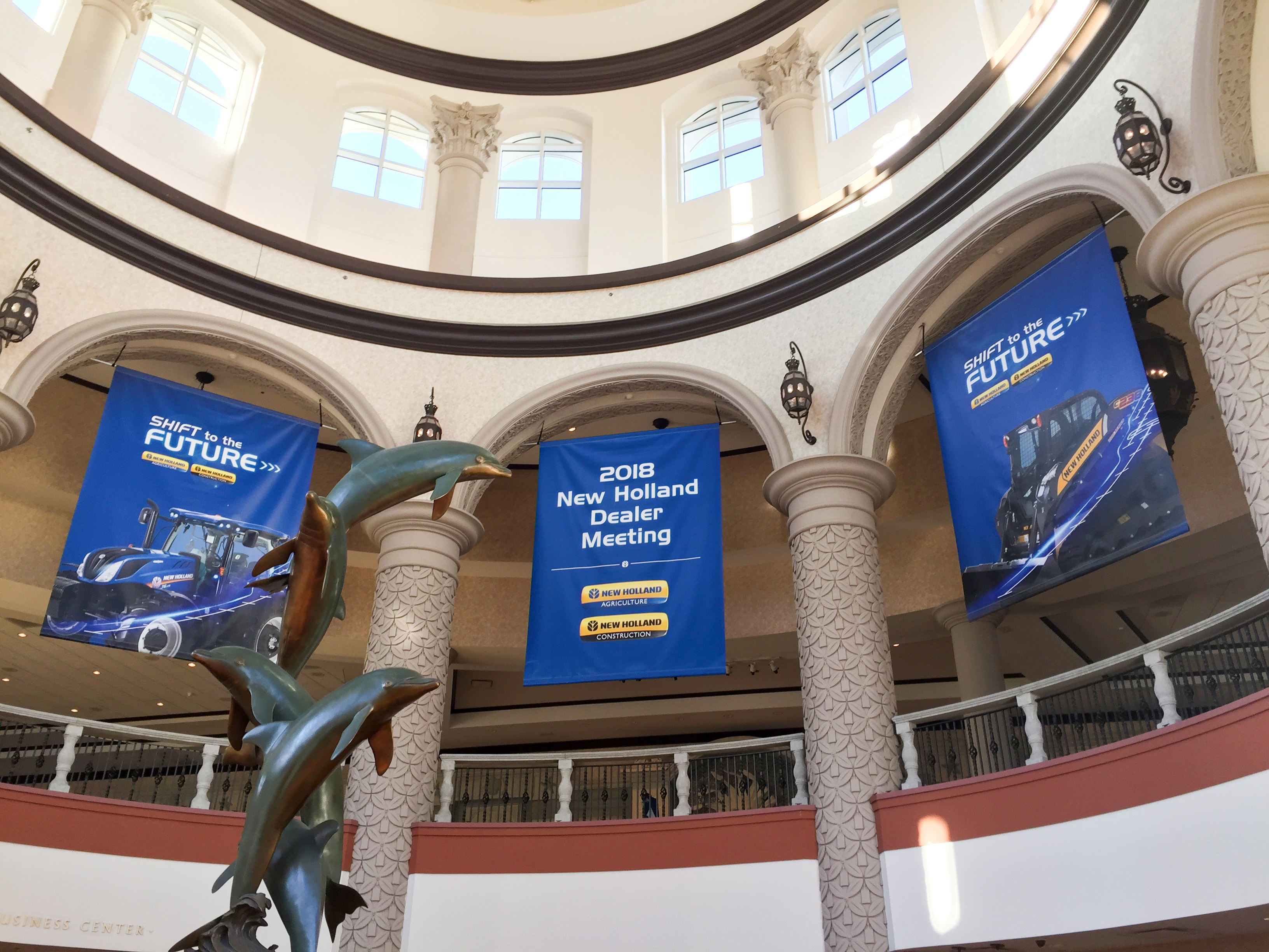 Fountain Archway Banners