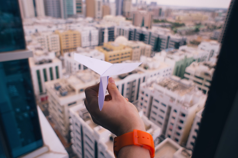 מטוס נייר