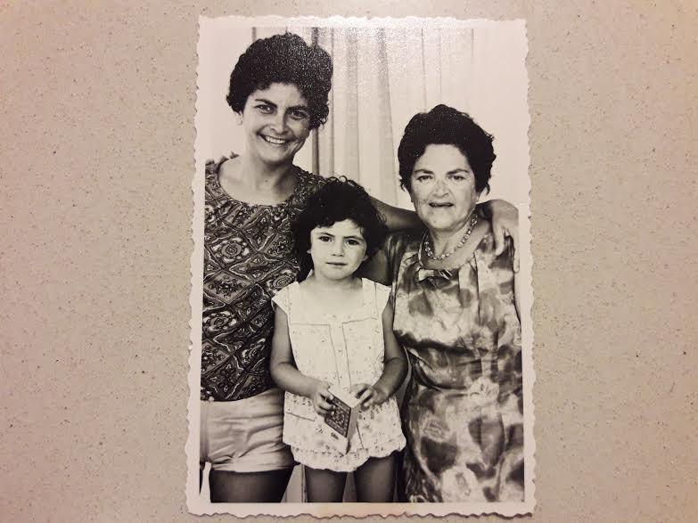 סבתא, אמא ואני