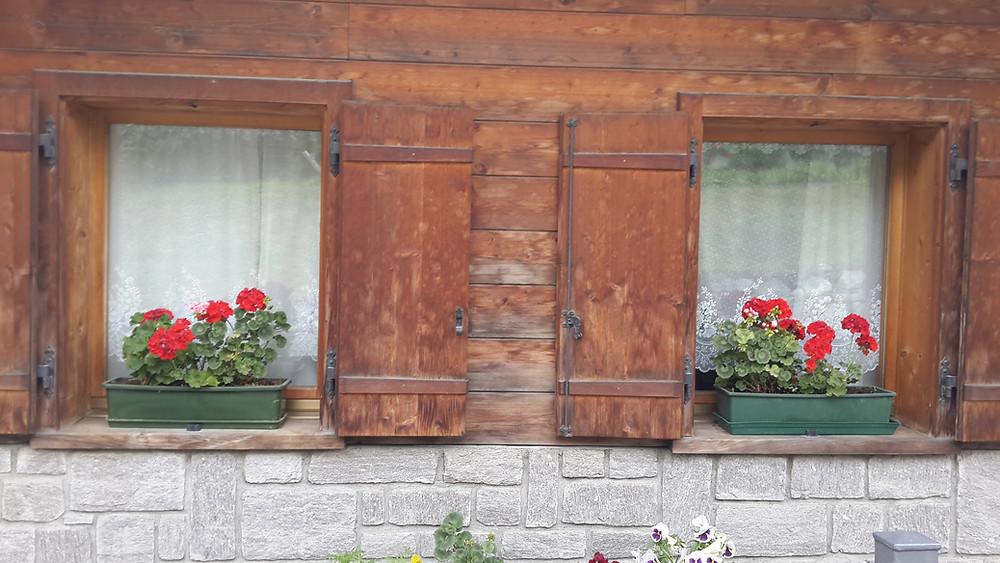 חלון בדולומיטים