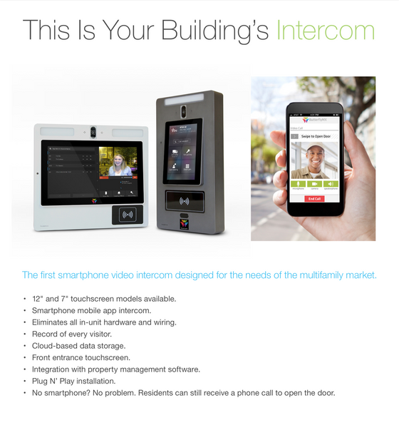 🌟 New Product! Managed Video Intercom