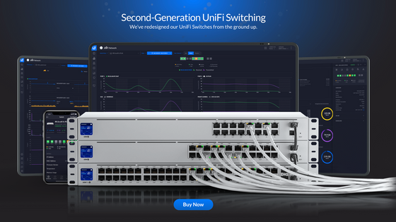 🌟 New Product! Generation 2 of UniFi Hardware for WiFi