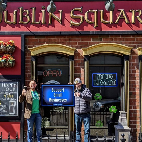 MEET THE CO-OWNER OF DUBLIN SQUARE IRISH PUB & EATERY