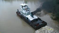 Swamp barge tug Nigeria