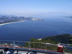 Overlooking Santos Dumont From Sugarloaf