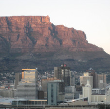 Cape Town At Sunset 2009