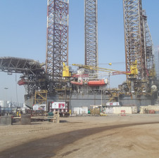 Galveston Key - Shelf Drilling