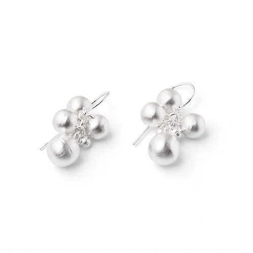 "Sterling Silver ""Bubbles"" Earrings"