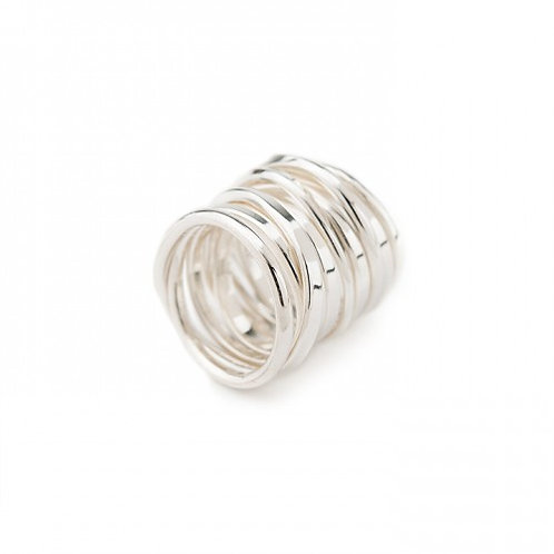 Twofooter Ring Sterling Silver