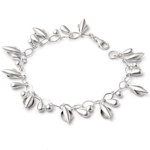 "Sterling Silver ""Wisteria"" Bracelet"