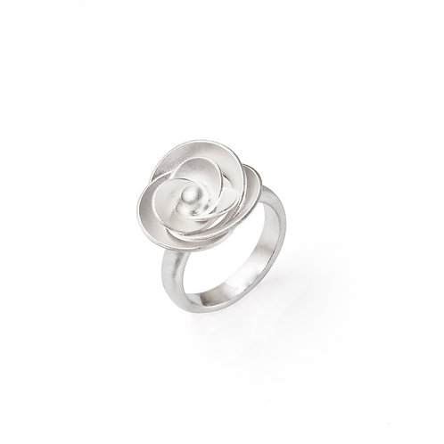 "Sterling Silver ""Rose"" Ring"