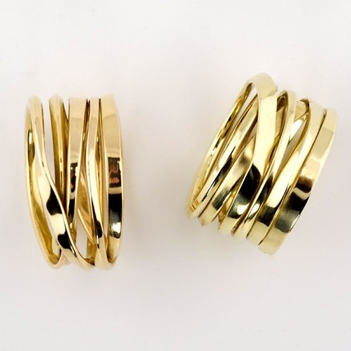 Onefooter Ring 18k Yellow Gold