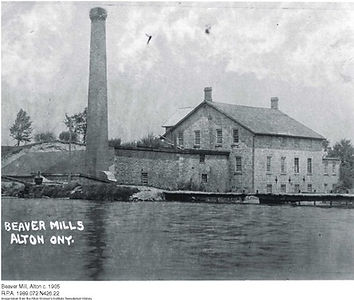 The Historic Alton Millpond Circa 1905